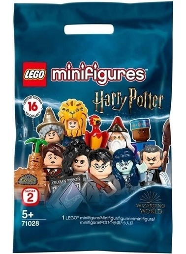 Lego Lego Minifigür - Harry Şotter Seri 2 - 71028 - Fred Weasley Renkli